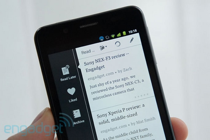Instapaper for Android updated with new design, keyword search and InstaRank sorting