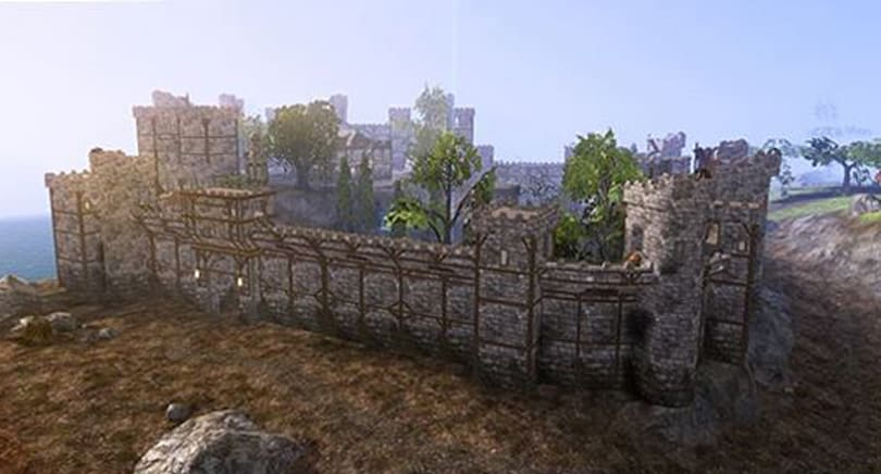 Darkfall adds siege engines, ladders, higher walls, and more
