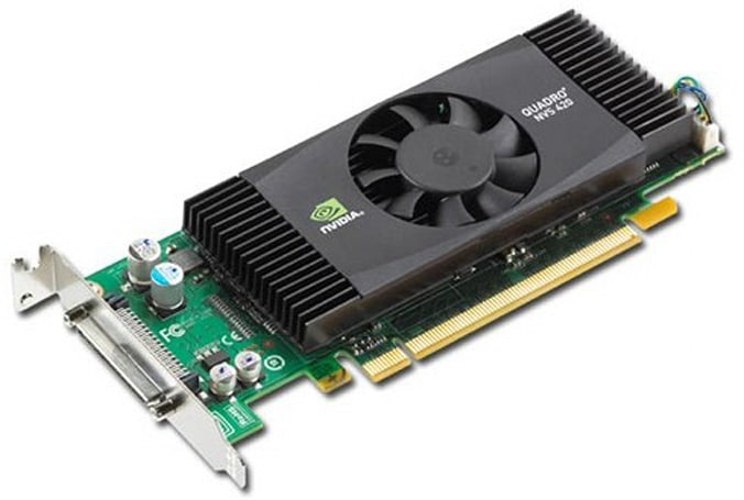 NVIDIA Quadro NVS 420 GPU brings powerhouse graphics to SFF rigs