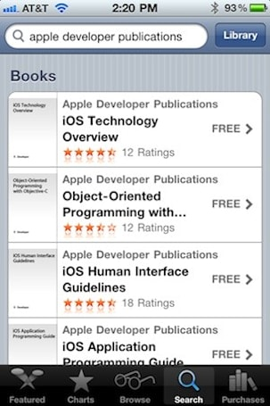 Apple posts free developer documentation for iBooks users