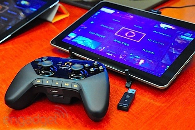 OnLive intros apps for iOS and Android, refreshes its wireless controller, we go hands-on (video)