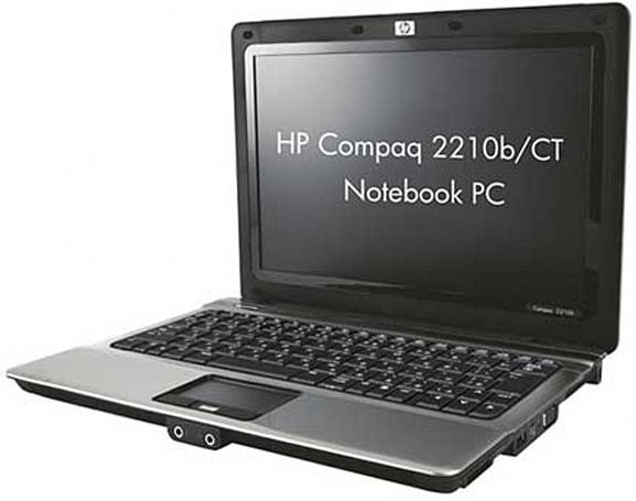 HP Compaq's 2210b/CT ultraportable aims for the suits