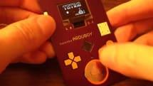 動画:Arduino搭載でテトリスが遊べる名刺、履歴やQRコード表示も。キット30ドルで販売予定