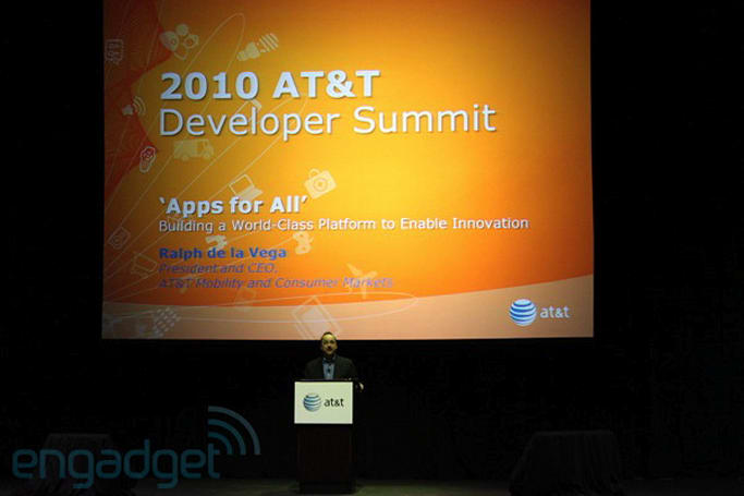 Ralph de la Vega: AT&T launching two webOS devices!