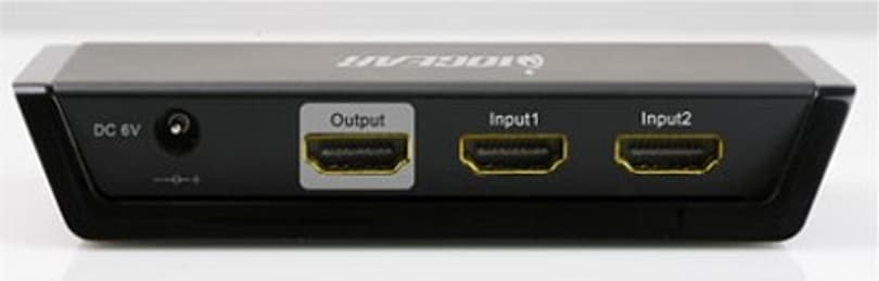 IOGEAR's first automatic 2x1 HDMI switch now shipping