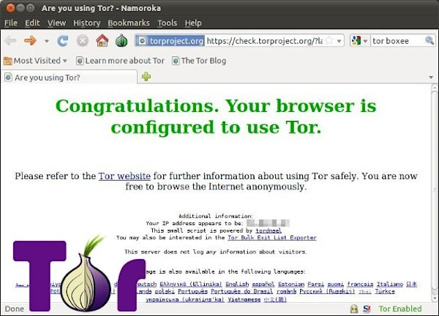 Tor to fork Firefox for simplified anonymous browsing, doesn't think you're paranoid