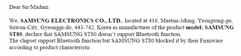 Samsung's latest WiFi point-and-shoot hits the FCC, doesn't do Bluetooth (yet)