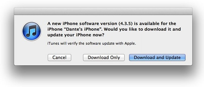 Apple releases iOS 4.3.5, inches towards iOS 5