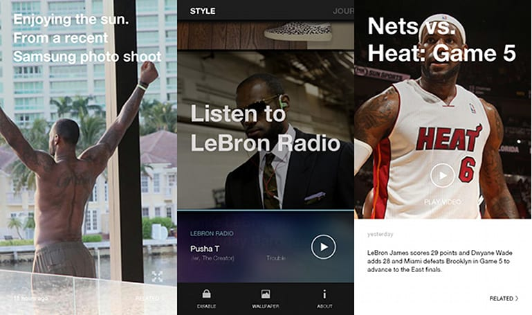 My week with LeBron... the app