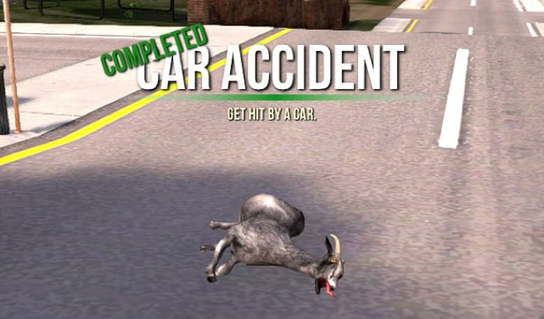 Goat Simulator crash lands on iOS