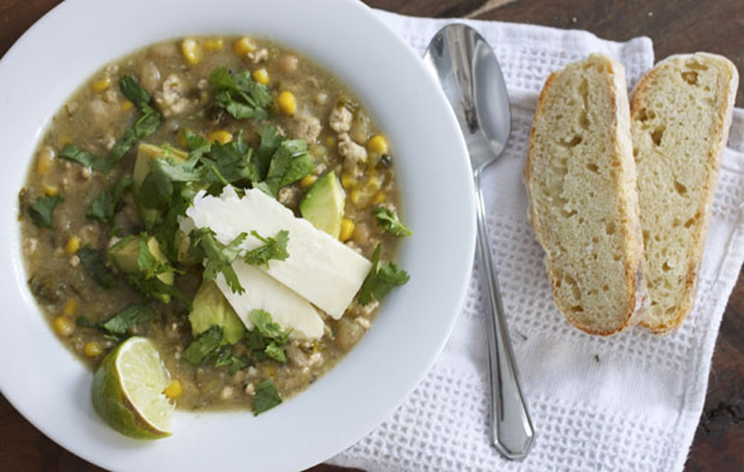 Make this on Super Bowl Sunday: Guilt-free white bean and turkey chili