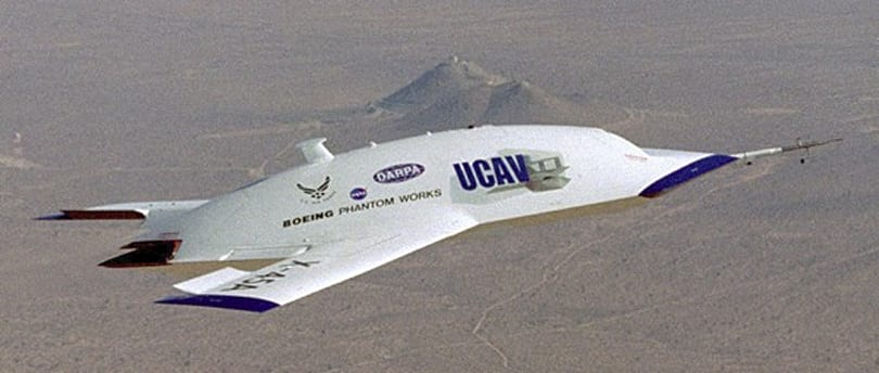 Boeing developing Phantom Ray fighter-sized combat UAV