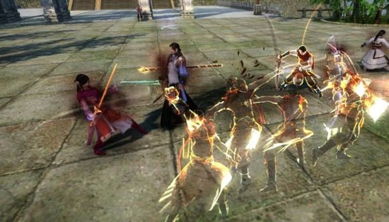 Age of Wushu shows off guild warfare