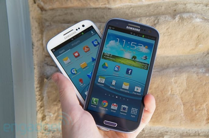 Samsung drops universal search from Sprint's Galaxy S III
