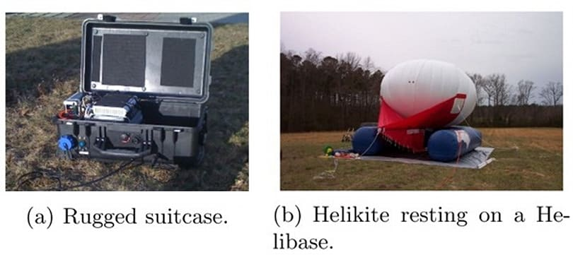 Helikite balloons can hoist emergency LTE network after natural disaster