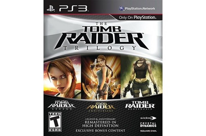 'The Tomb Raider Trilogy' hits PS3 in March