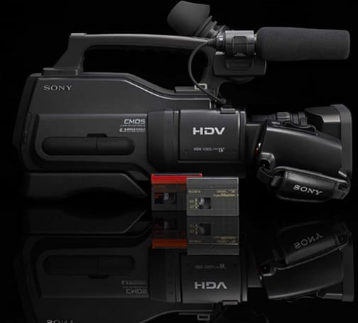 Sony intros 'entry-level' HVR-HD1000U HDV camcorder