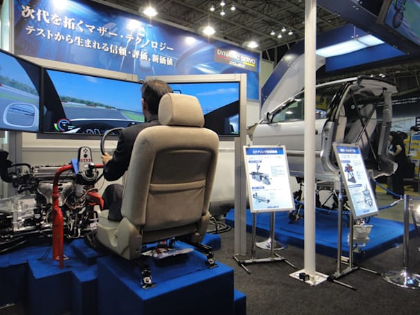 Saginomiya driving simulator steers real car, isn't quite Avatar on wheels (video)