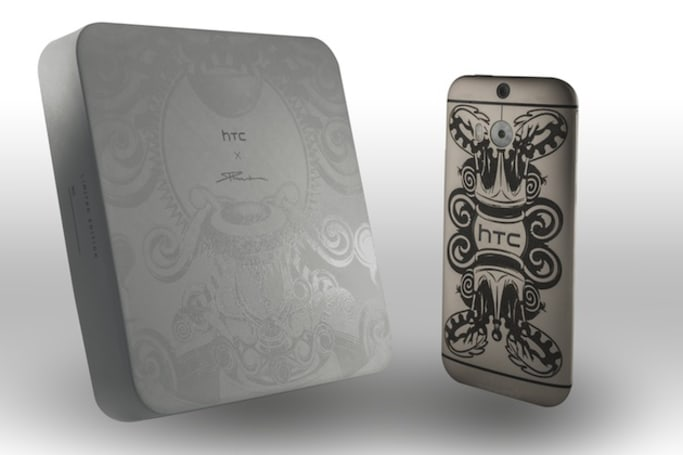 This tattooed HTC One M8 is the company's latest Limited Edition