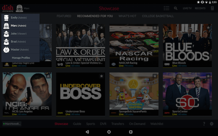 Dish Anywhere adds profiles for personalized recommendations