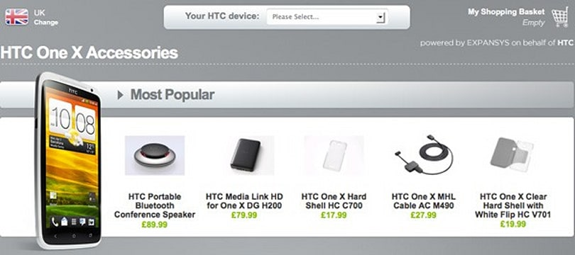 HTC's UK accessory store shows some love for the One line, offers up the goodies early