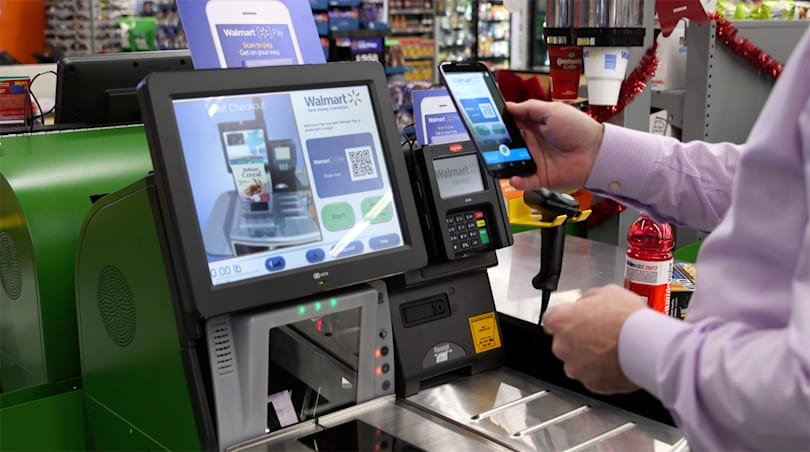 Walmart wants you to pay through its mobile app