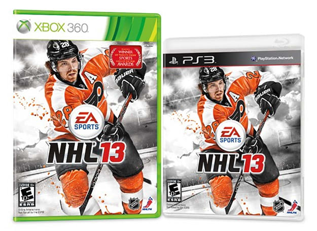 NHL 13 to feature Flyers' Giroux on cover