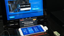 Toshiba bakes TransferJet file transfer and wireless charging into touchscreen kiosk, charges phones and credit cards