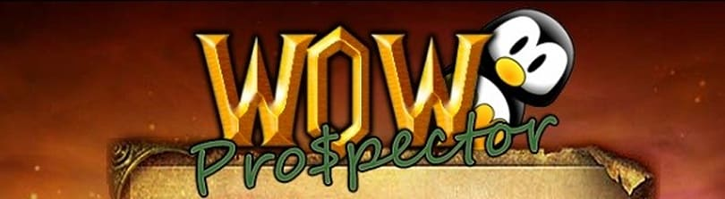 Gold Capped: WoW Prospector for profitable prospecting
