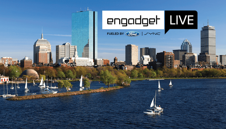 Join us for Engadget Live in Boston this Friday!