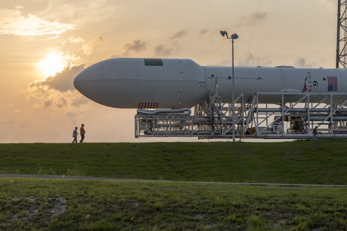 The SpaceX Falcon 9 rocket returns to the skies this month
