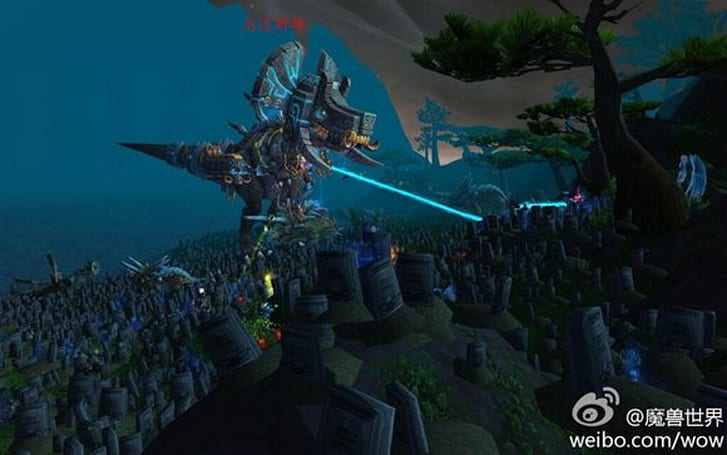 Oondasta in China is full of ... tombstones