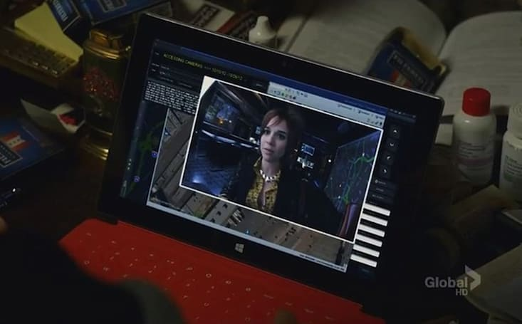Screen Grabs: Microsoft Surface goes to work on NCIS: LA