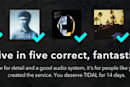 Tidal's HiFi test rewards audiophiles with half as much free trial (update: now changed)
