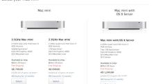 Mac mini prices climb in several countries
