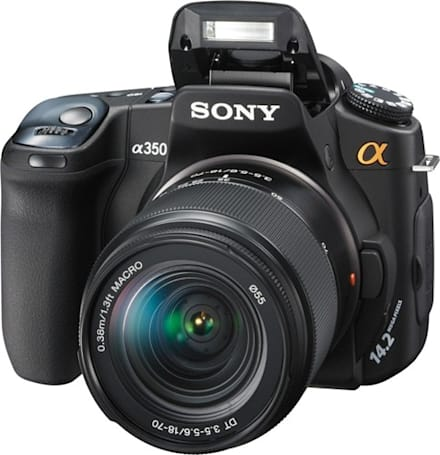 Sony's Alpha A350 DSLR gets reviewed