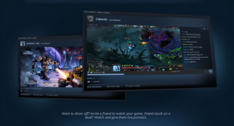 Steam infiltrates Twitch territory with Steam Broadcasting [Update: Twitch reaction]
