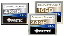 Pretec intros 16GB / 24GB / 48GB CompactFlash cards
