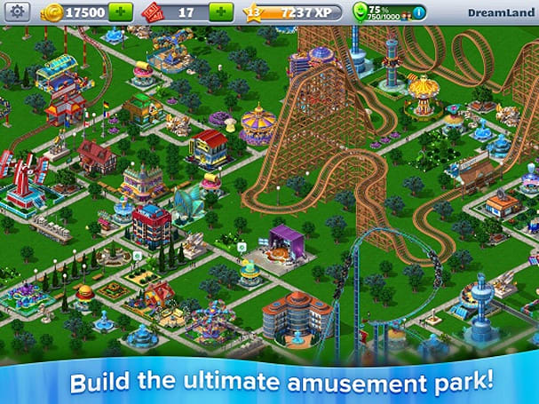 RollerCoaster Tycoon 4 Mobile trailer is not exactly a crowd pleaser [Update 2]