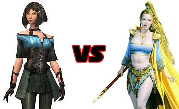 Leaderboard: GW's Gwen vs. EQ's Firiona Vie