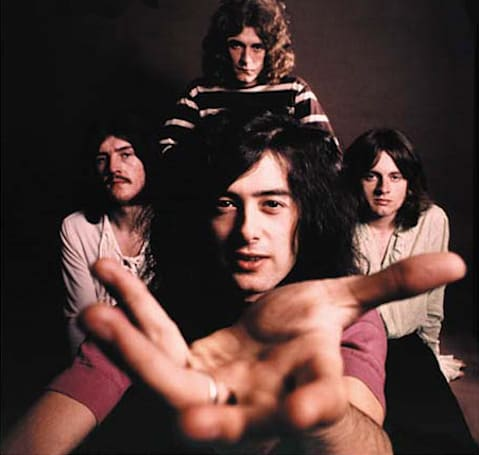 Led Zeppelin comes to Spotify