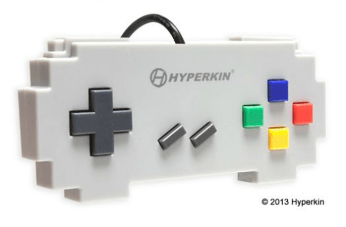 Pixel art controllers coming from Hyperkin this September