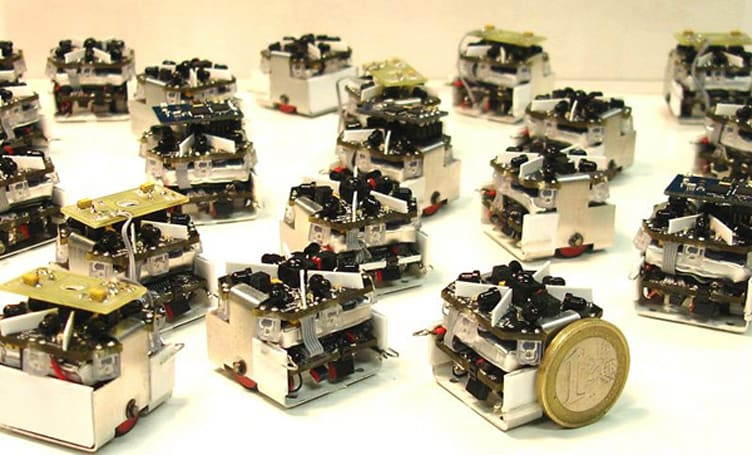 Swarm robot project sounds ominous, uses open source