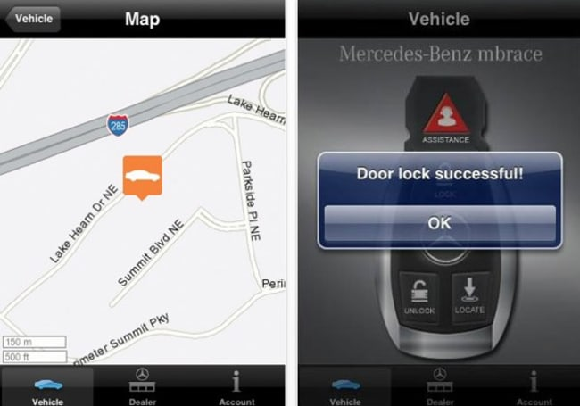 Mercedes-Benz updates mbrace app with fancy pants 'Concierge' service
