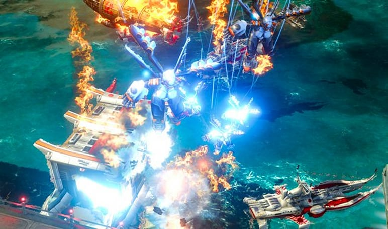 Red Alert 3 demo hits PSN 'in a couple of weeks'