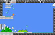 Worlds collide as Super Mario Bros and Portal become Mari0 (video)