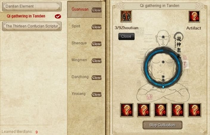 Age of Wushu introduces the Meridian system