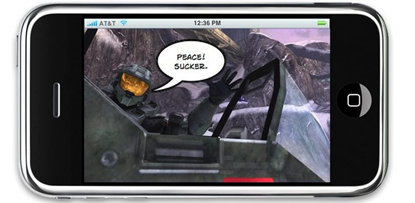 PSA: The iPhone cannot play Xbox 360 software