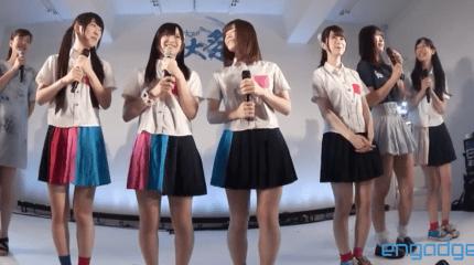 動画:アイドル PIP がオリジナル曲を全力で披露 at Engadget 例大祭 #egfes