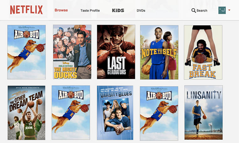 Women's basketball recruiter sanctioned for sharing a Netflix account